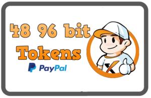 48 96bit Tokens